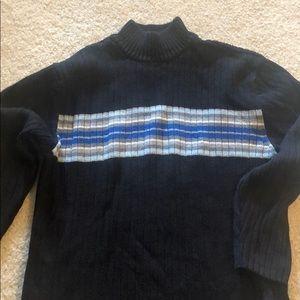 Men's turtleneck sweater
